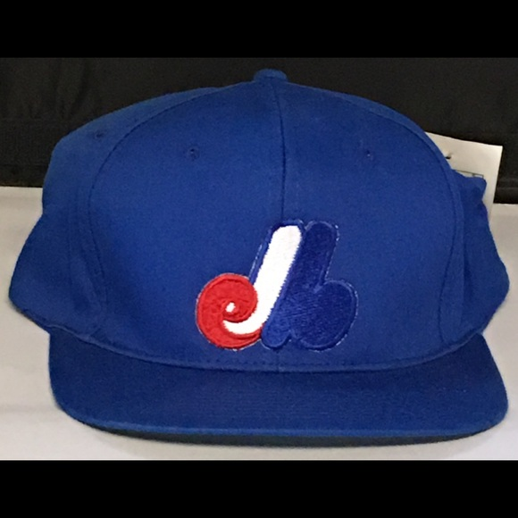 Drew Pearson Headwear Other - Montreal Expos MLB Vintage SnapBack Cap Hat  Blue fcea93a9fe4f